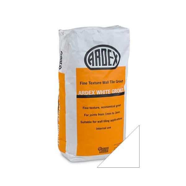Ardex Super Fine White grout