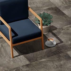 Livingstone External Black tiles