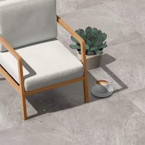 Livingstone Grey External tiles