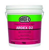 Ardex D2 tile adhesive