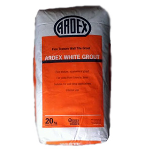 Ardex white grout