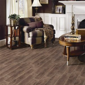 Woodline Vintage Brown Timber Look tiles