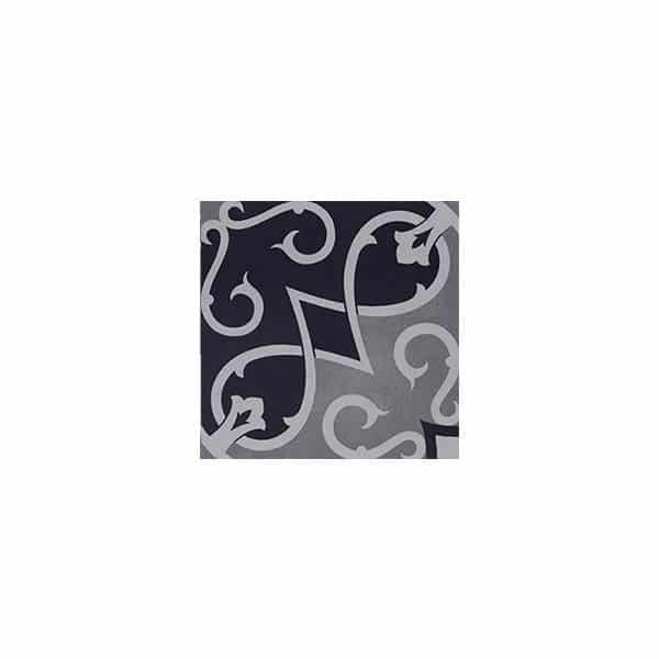 Artisan Arabesque Black Ash tiles