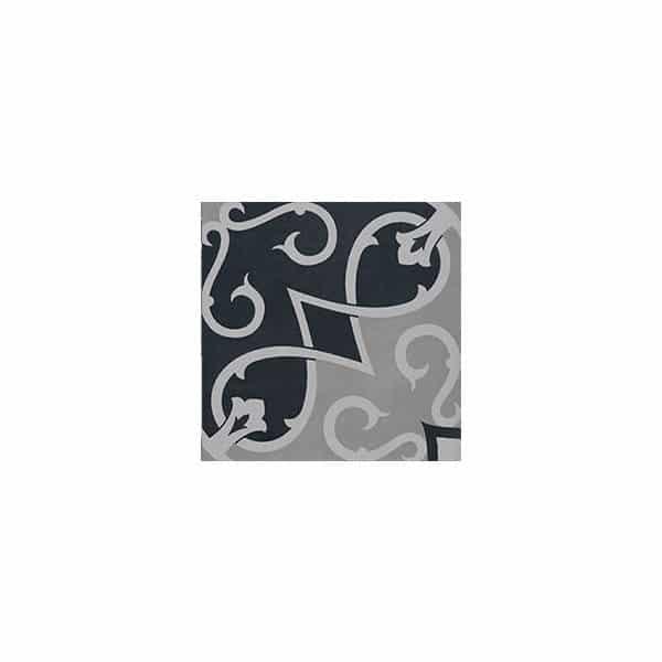Artisan Arabesque Black Clay tiles