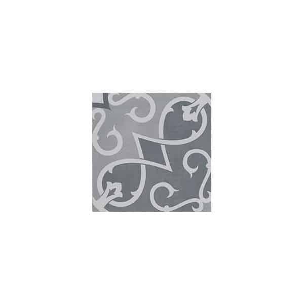 Artisan Arabesque Charcoal Ash tiles