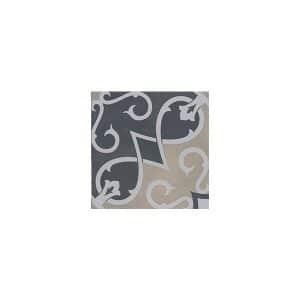 Artisan Arabesque Charcoal Mustard tiles