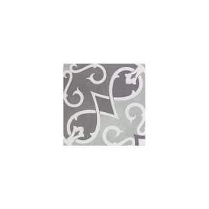 Artisan Arabesque Chocolate Clay tiles