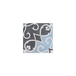 Artisan Arabesque Chocolate Sky tiles