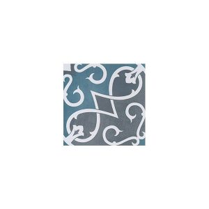 Artisan Arabesque Denim Charcoal tiles
