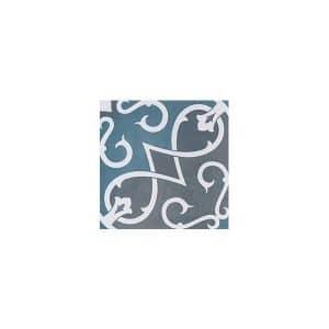Artisan Arabesque Denim Charcoal tiles