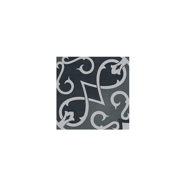 Artisan Arabesque Forest Black tiles