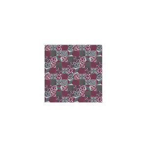 Artisan Bristol Charcoal Oxblood tiles