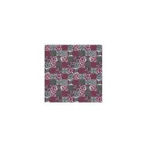 Artisan Bristol Charcoal Oxblood tiles