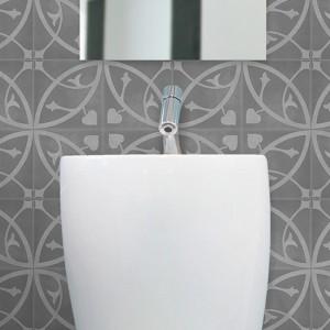 Artisan Geneva Charcoal Dark tiles