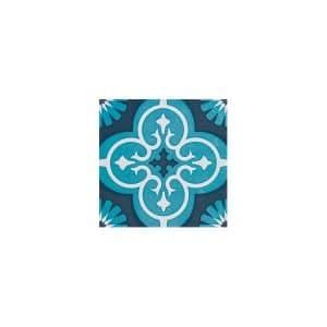 Artisan Marrakesh Turquoise Black tiles