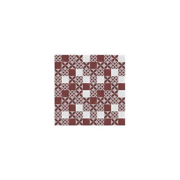 Artisan Toulouse Mist Crimson tiles