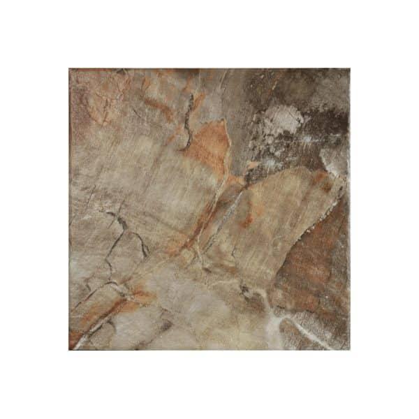 Flame Copper floor tiles