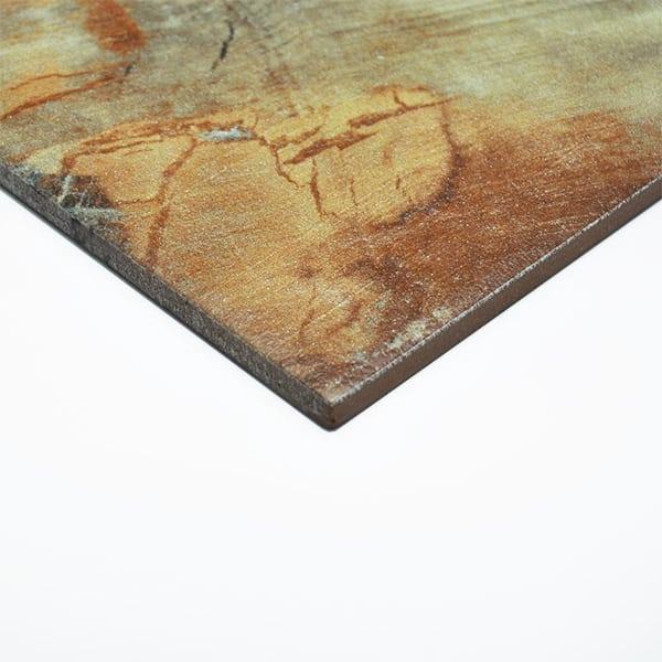 Flame Copper Internal/External floor tiles 400x400