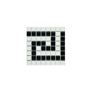Greek Key Border mosaic tiles