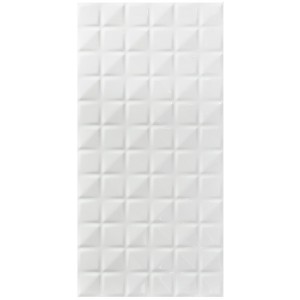Grid White feature tiles