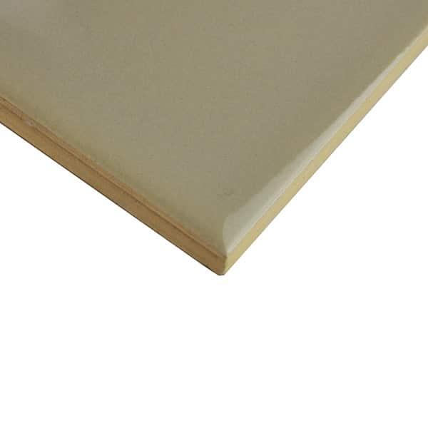 Plain Gloss Pressed Edge Ash tiles