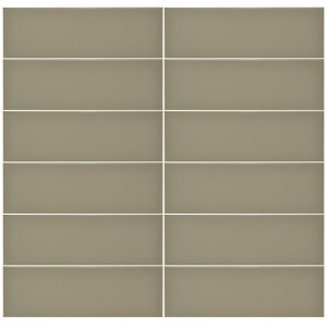 Plain Gloss Pressed Edge Ash tiles