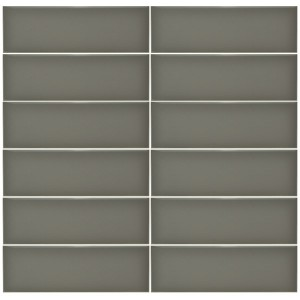 Plain Gloss Pressed Edge Gris tiles