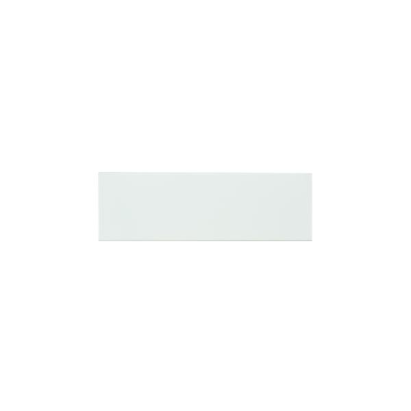 Plain Gloss Pressed Edge White tiles