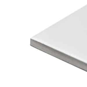 Plain Gloss White Pressed edge tiles