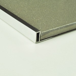 Aluminium Contempo Edge trim
