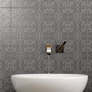 Infinity Brighton Charcoal tiles