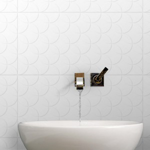 Infinity Centris Milk tiles