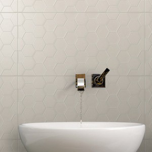 Infinity Geo Clay tiles
