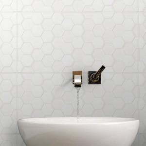Infinity Geo Feather tiles