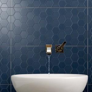 Infinity Geo Midnight tiles