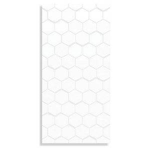 Infinity Geo Milk tiles