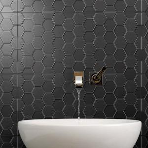 Infinity Geo Onyx tiles