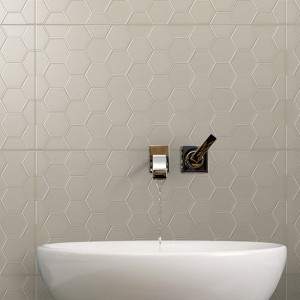 Infinity Geo Sable tiles