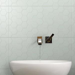 Infinity Geo Seafoam tiles
