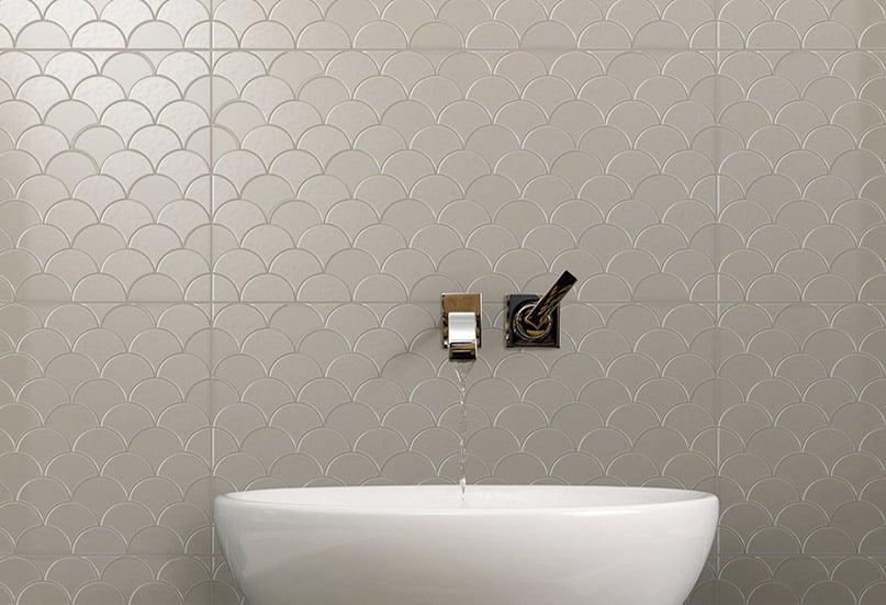 Infinity Koi Sable tiles