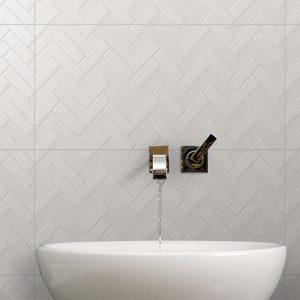 Infinity Mason Pumice feature tiles
