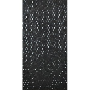 Hex Series Hexagonal black tiles