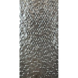 Hex Series Hexagonal silver tiles