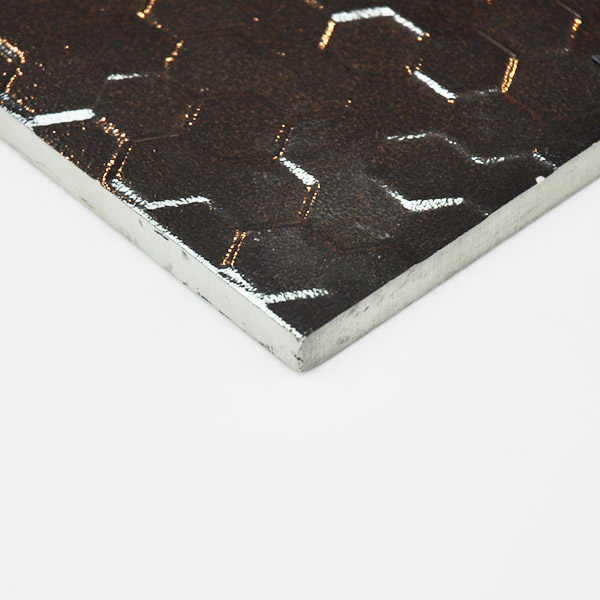 Hex Series Hexagonal silver tiles