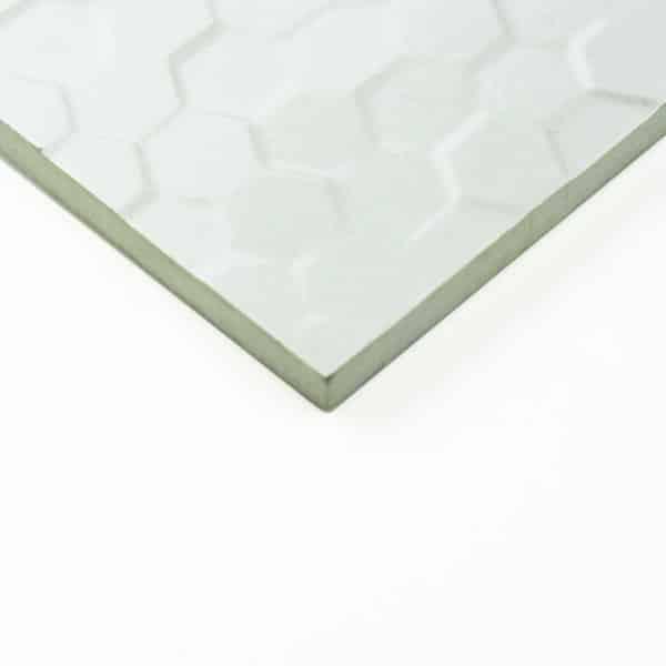 Hex Series Hexagonal White tiles