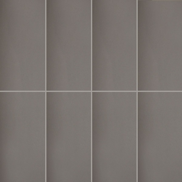 Long Gloss Charcoal Wall Tiles