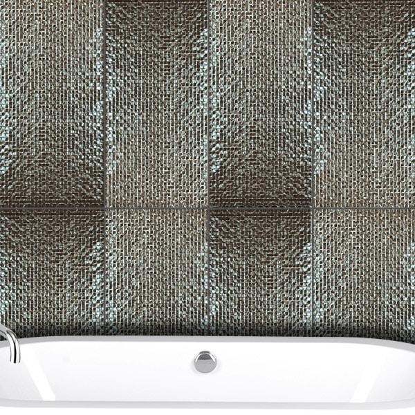 Metallic Series Pewter tiles