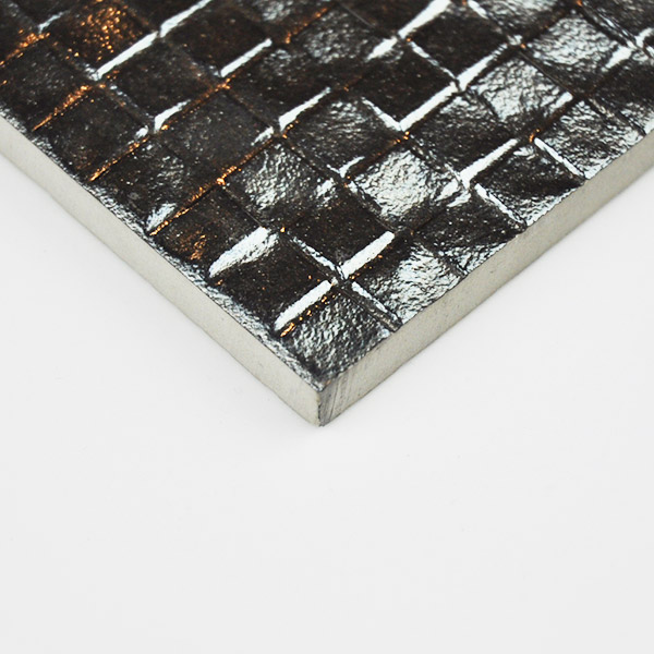 Metallic Series silver tiles