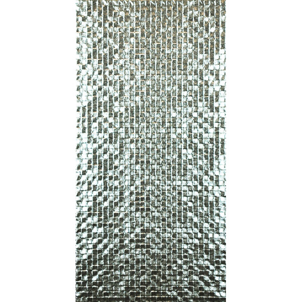Metallic Series silver tiles