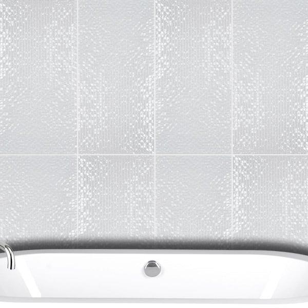 Metallic Series White tiles